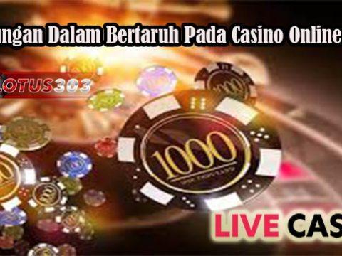 Keuntungan Dalam Bertaruh Pada Casino Online Resmi